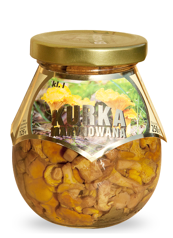 chanterelle marinated 250g
